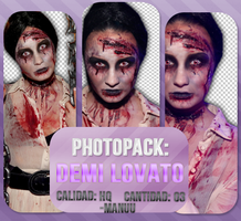 Photopack png 009. Demi Lovato by Manuuselena