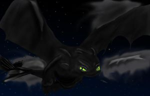 Toothless by CiindyCore