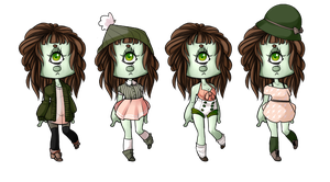 Outfits for IdoodleChibis [2] by M1ssNautilus