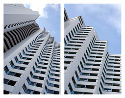 skyscraper collage by st3rn1