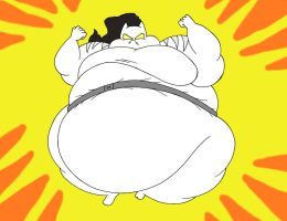 COM Obese White Tiger by Robot001