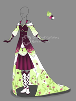 Dress Design Collaboration by Nahemii-san