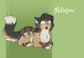 Mothpaw -Commish- by Spottedfire-cat