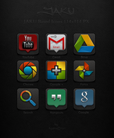 Jaku based Google Icons by Agamemmnon