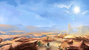 Across the Barrens by Aziore