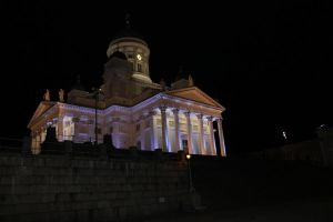 Helsinki Cathedral: view from square by zhuravlik26