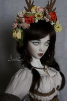 Forest Queen portrait by AyuAna