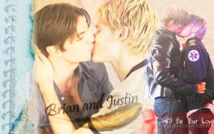 Brian and Justin- Queer as folk Season 5 by bibiherz