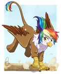 Feather Landing by Hazurasinner by Q99