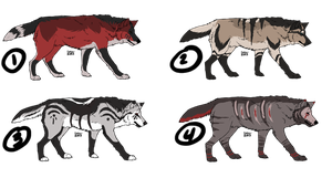 Wolf Adopts 12 *POINTS* by Fells-Adopts