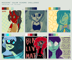 Color Scheme Challenge (DT style...again) by anakluxmos
