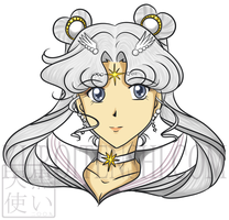 Bust of Sailorcosmos Updated by kuroitenshi13