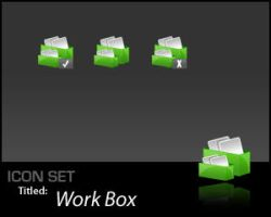 IconSet: Work Box by Scoville-Cased