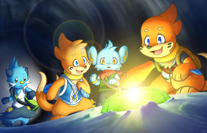 The Gem of Courage by BuizelCream