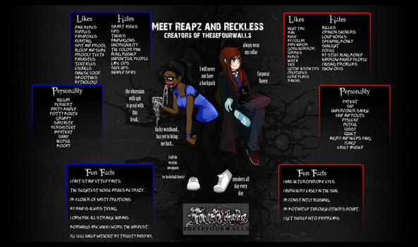 Meet Reapz and Reckless by DaReckless