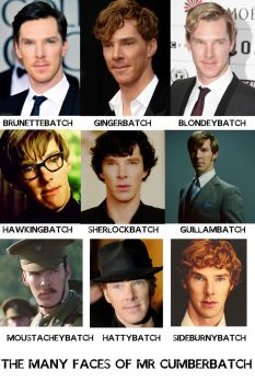 The many faces of Cumberbatch by firelight-12