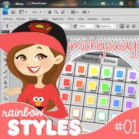 Trazo rainbow styles ~MichySwag by MichySwag