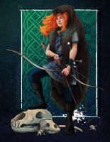 Merida the Bear Queen by neomeruru