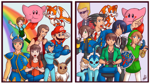 Then and Now by Animeartist569