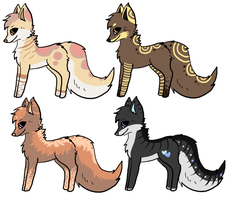 Canines Adoptables by A-Blue-Fire