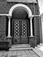 Door of Archbishop's Palace by alimuse