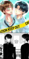 AU Comic _Levi_Eren_ 13_END by Yuri-chan24