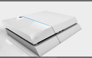 White PS4 6' by Naeki-Design