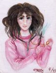 Hermione Granger Traditional Drawing by Tr1nks1e