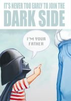 I'm your father by gamanimonster
