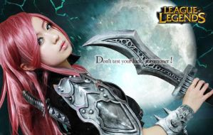 Don't test your luck,  summoner! by ekiholic