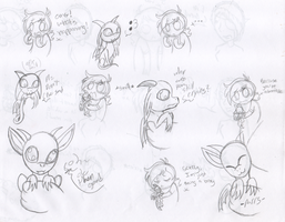Fun times with Dib and Munchi - Big baby pg. 2 by RaveMunch