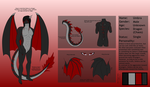 Reference Sheet: Umbra by DragonVampriss