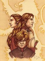 The Lannisters by Eiluvision