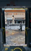 Through the Bus Doors 15 by bowtiephotography