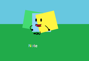 Note by Animatedobjectsshows