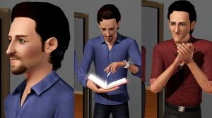 Tom Hiddleston's new style in sims 3 by TheSims3Pets