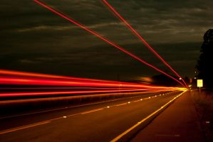Lights - night - slow shutter by ndera-farina