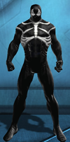 Spider-Man Black Suit (DC Universe Online) by Macgyver75