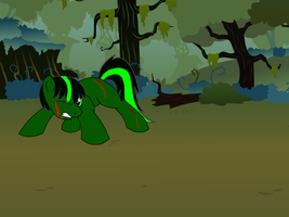 Lost and Wounded in the Everfree Forest by DeviantDalton