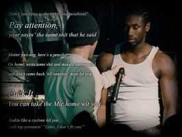 8 Mile. Take the mic home wit you by EchoSixWolf