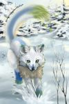 Drip fox by DarkNessie