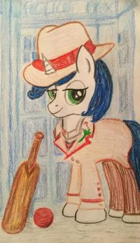 5th Doctor OC for Jack by KarRedRoses