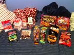 Halloween+Other Japanese Snacks +video review by LuffyNoTomo