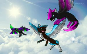 Take to The Sky by platonicCRUSH