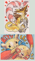 Cute lil Pokebadges by Miyukitty