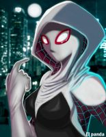 Spider Gwen by pandamune