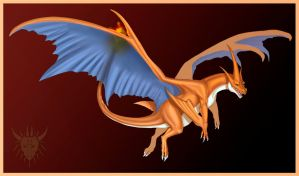 Charizard Y by Galidor-Dragon
