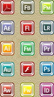 Icon Pack 002 Adobe CS Icons by llexandro
