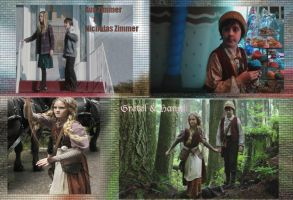 hansel and gretel wallpaper OUAT by callyrose