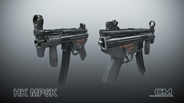 HK MP5K for video games by contmike